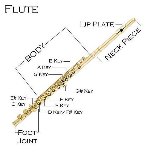flute part name canex music rh canexflutes com